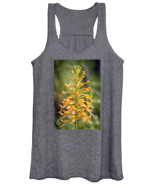 Yellow Fringed Orchid Women's Tank Top