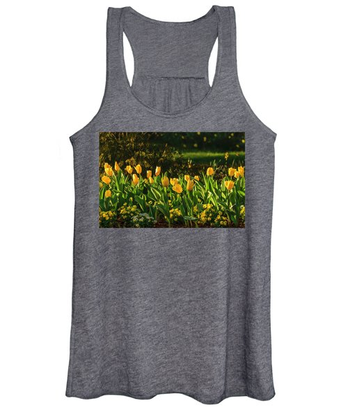 Yellow Spring Fever Women's Tank Top