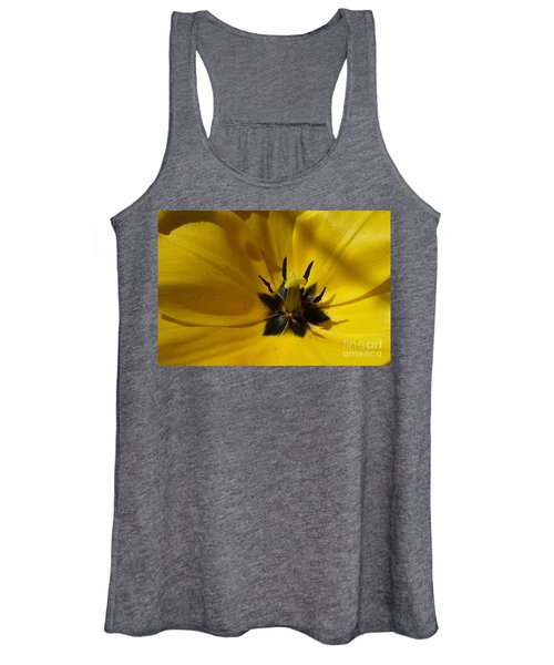 Yellow Tulip 1 Women's Tank Top
