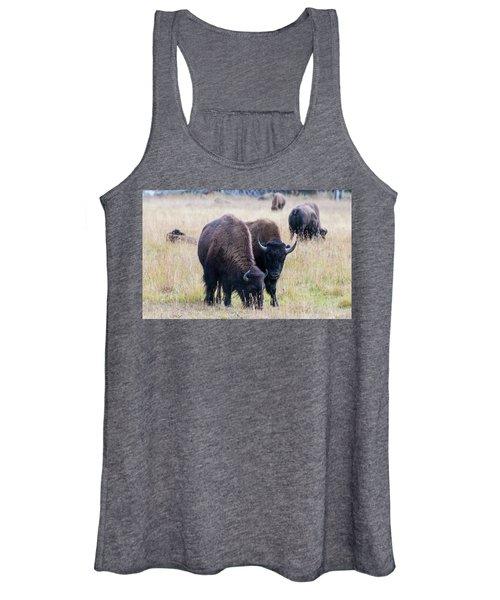 Yellowstone Bison Women's Tank Top