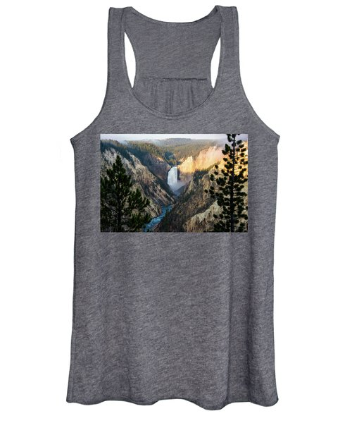 Yellowstone Falls Women's Tank Top