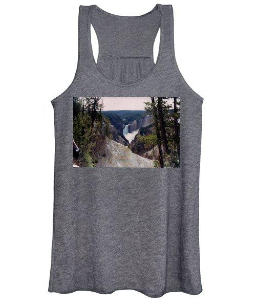 Yellowstone Water Fall Women's Tank Top