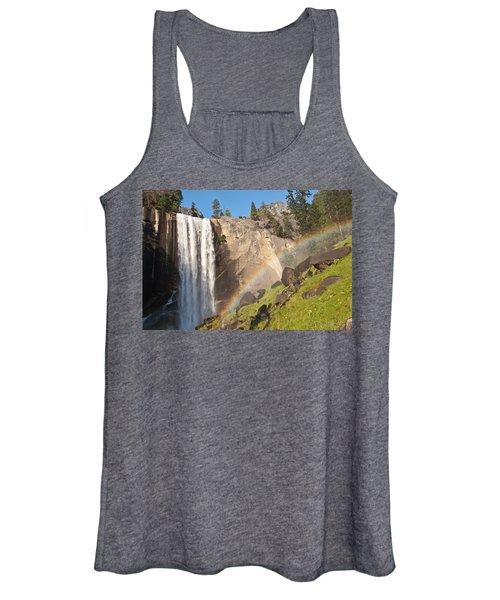 Yosemite Mist Trail Rainbow Women's Tank Top