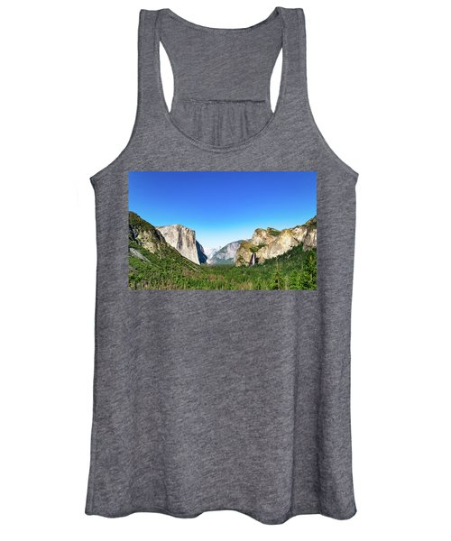 Yosemite Valley- Women's Tank Top