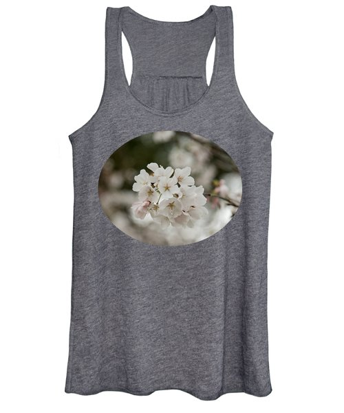 Yoshino Cherry Blossoms Women's Tank Top