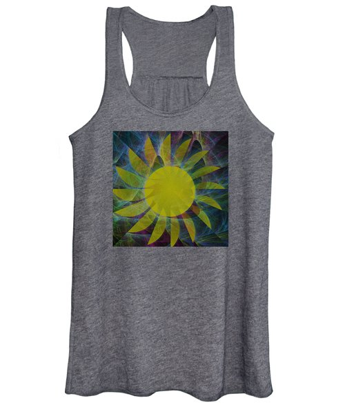 You Are My Sunshine Abstract Women's Tank Top
