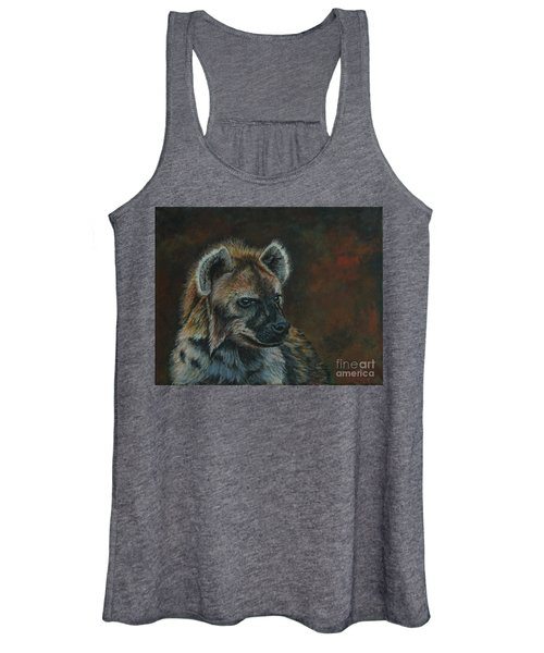 You Don't See Me Laughing......hyena Women's Tank Top