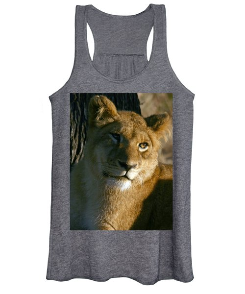 Young Lion Women's Tank Top