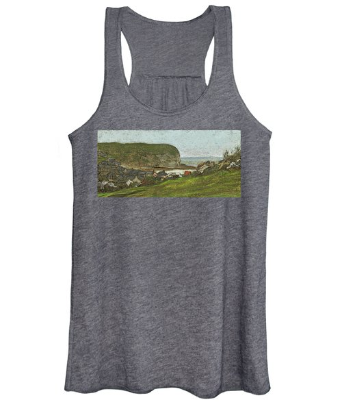 Yport And The Falaise D'aval Women's Tank Top