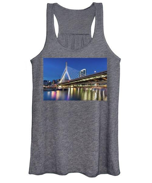 Zakim Bridge And Charles River Women's Tank Top