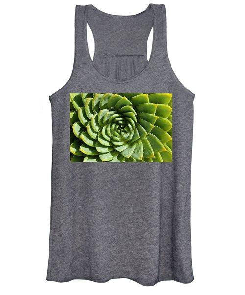 Aloe_polyphylla_8536.psd Women's Tank Top