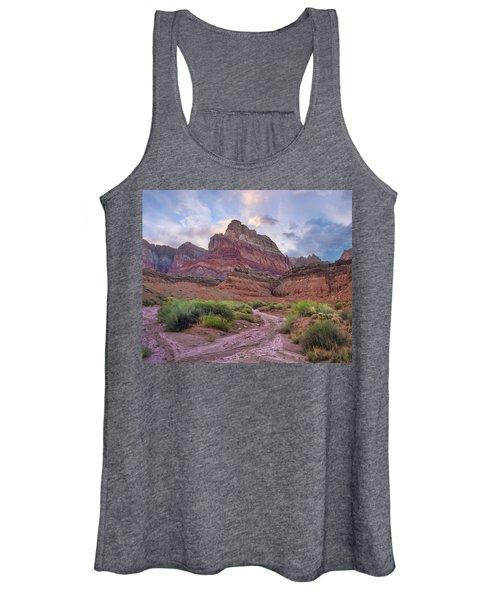 Desert And Cliffs, Vermilion Cliffs  Women's Tank Top