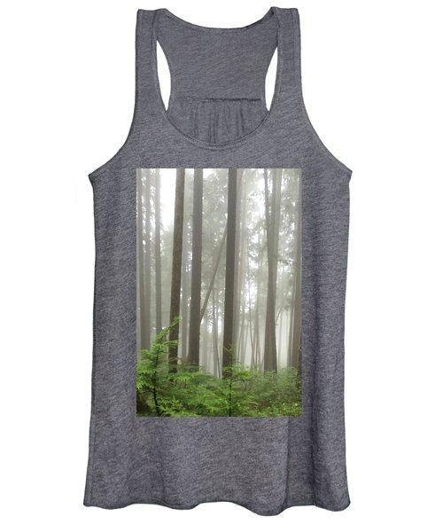 Foggy Forest Women's Tank Top