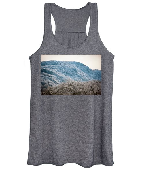 Frost On The Mountain Women's Tank Top