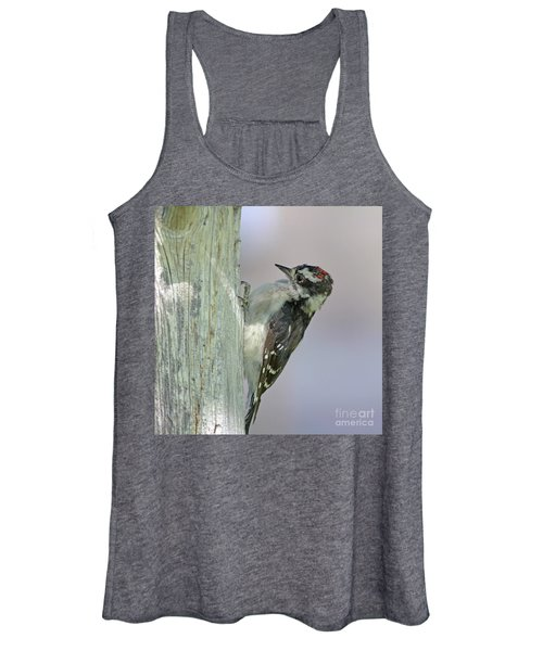 Hairy Woodpecker Women's Tank Top