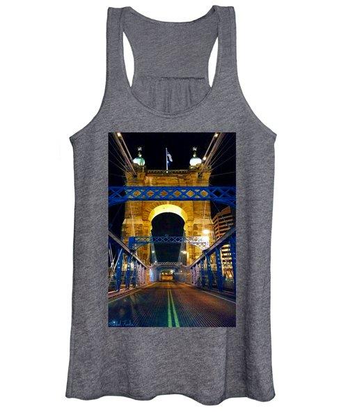 John A. Roebling Bridge Women's Tank Top
