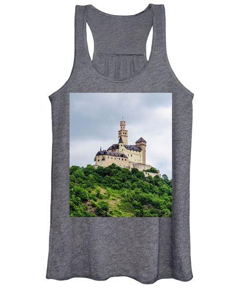 Marksburg Castle - 2 Women's Tank Top