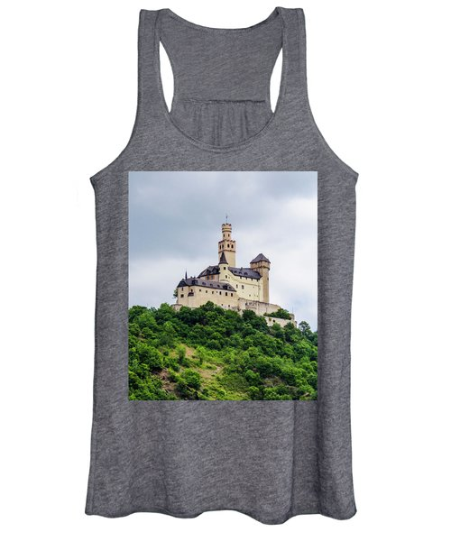 Marksburg Castle - 2 Women's Tank Top