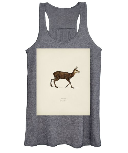 Moschus Illustrated By Charles Dessalines D  Orbigny  1806 1876  Women's Tank Top
