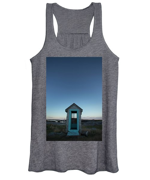 Outhouse, Matinicus Island, Knox Women's Tank Top