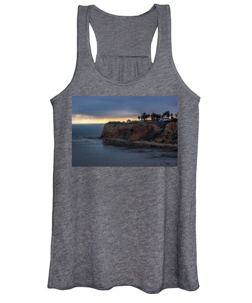 Point Vicente Lighthouse At Sunset Women's Tank Top