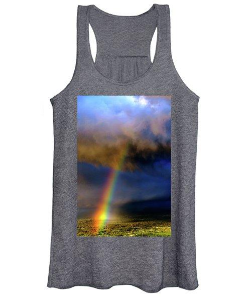 Rainbow During Sunset Women's Tank Top