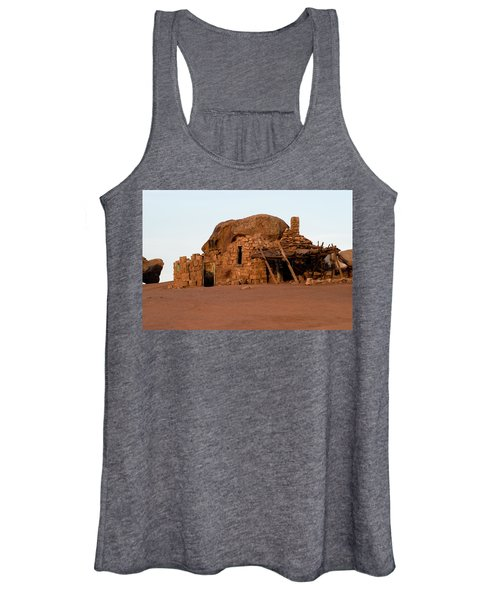 Rock Formations And Abandoned Building Women's Tank Top