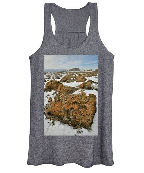 The Many Colors Of The Book Cliffs Women's Tank Top