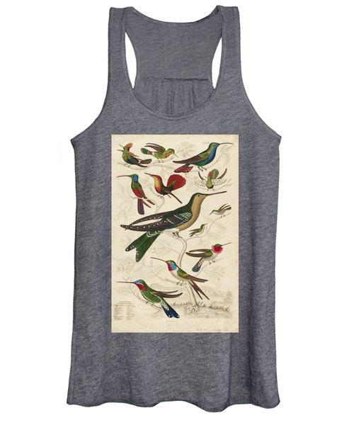 Trochilus, Hummingbirds Women's Tank Top