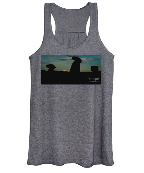 Turkish Landscapes With Snowy Mountains In The Background Women's Tank Top