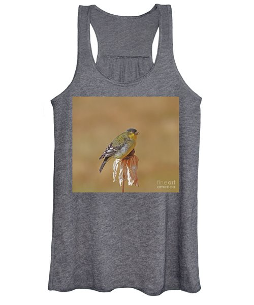 Lesser Goldfinch Women's Tank Top