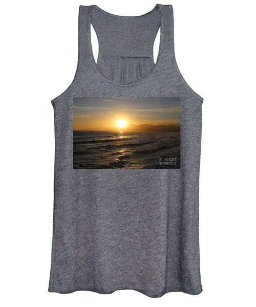 Pacific Sunset , Santa Monica, California Women's Tank Top