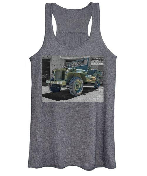 1942 Willys Gpw Women's Tank Top