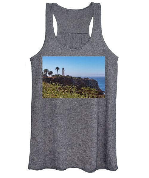 Point Vicente Lighthouse Women's Tank Top