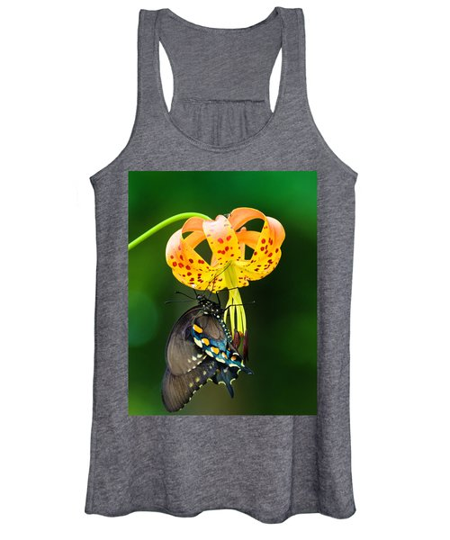 Swallowtail On Turks Cap Women's Tank Top