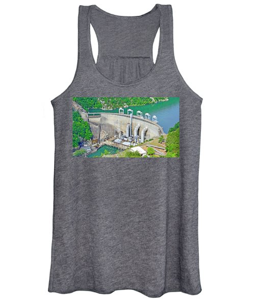 Smith Mountain Lake Dam Women's Tank Top