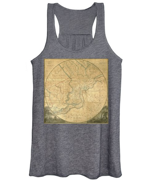 A Plan Of The City Of Philadelphia And Environs, 1808-1811 Women's Tank Top