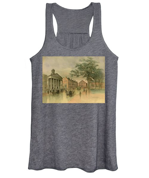 A Southwestern View Of Washington Square Women's Tank Top