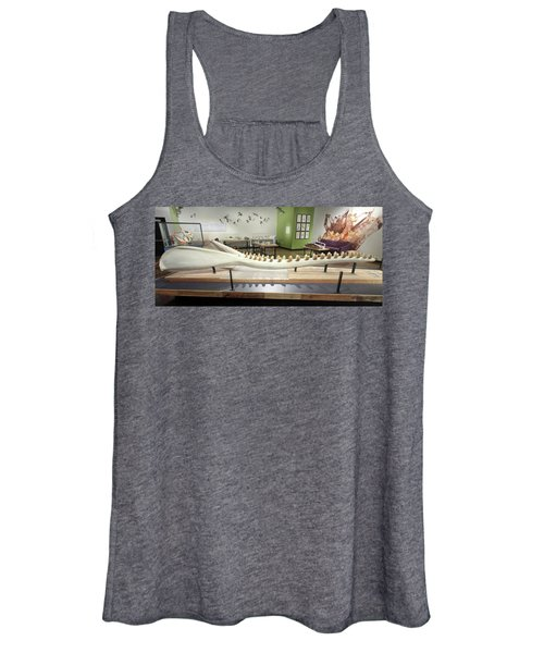 A Sperm Whale Jaw Exhibit At The Nat, San Diego, Ca, Usa Women's Tank Top