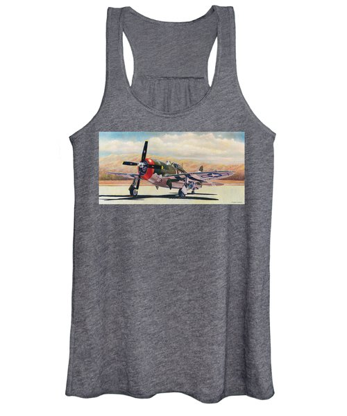Airshow Thunderbolt Women's Tank Top