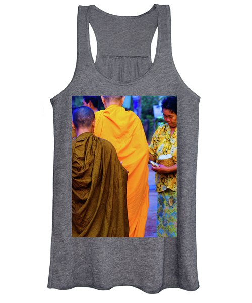 Alms For The Monks Women's Tank Top