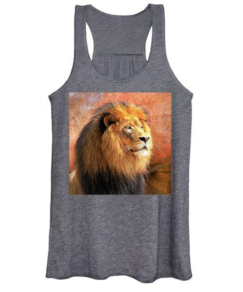 Alpha Male Lion Women's Tank Top