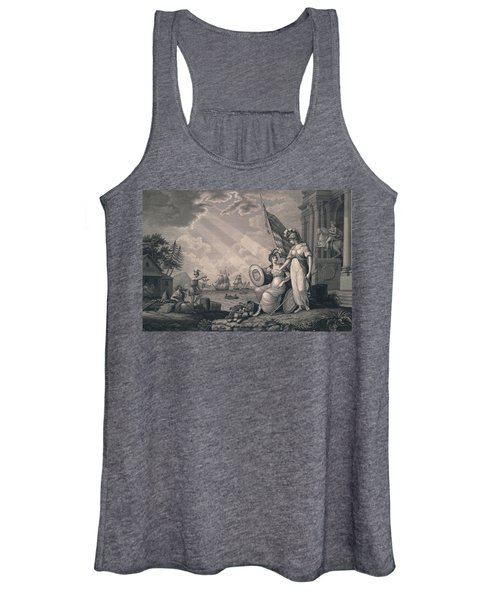 America Guided By Wisdom Women's Tank Top