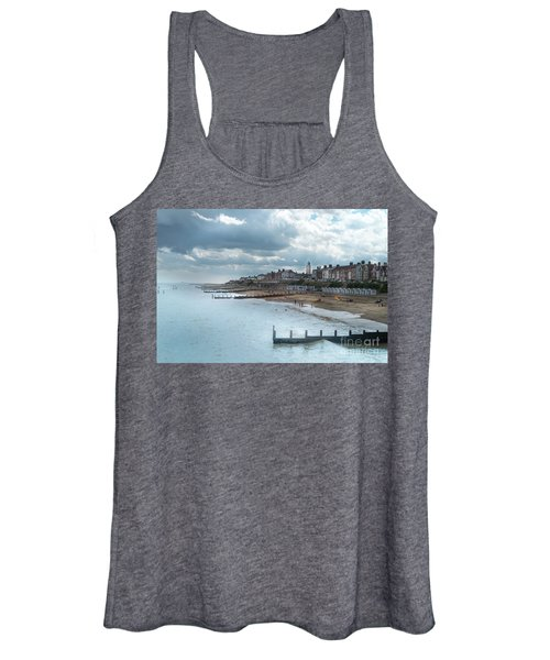 Women's Tank Top featuring the photograph An English Beach by Perry Rodriguez