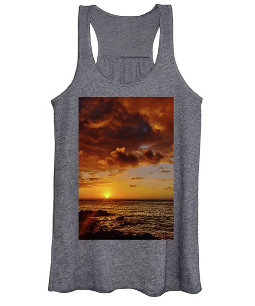 And Then The Sun Set Women's Tank Top