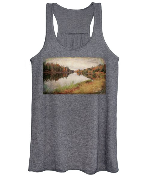 Androscoggin River, 13 Mile Woods Antiqued Women's Tank Top