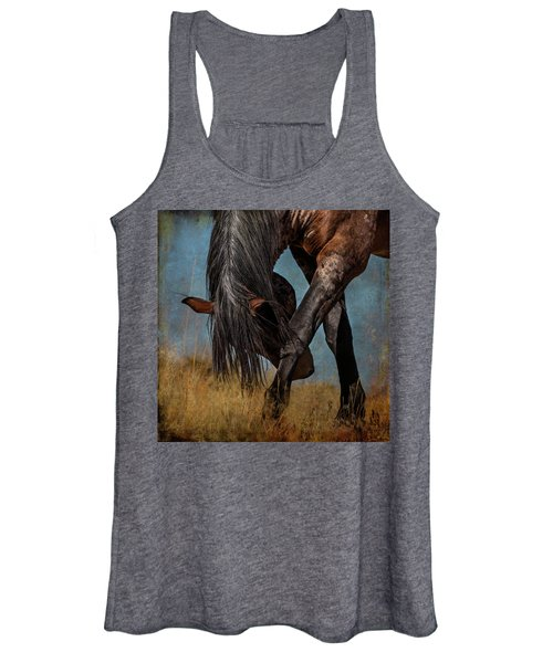 Angles Of The Horse Women's Tank Top