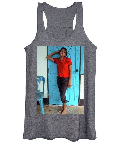 Another Lovely Smile Women's Tank Top