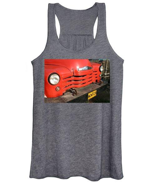 Antique Truck Red Cuba 11300502 Women's Tank Top