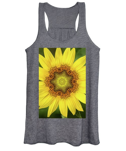 Artistic 2 Perfect Sunflower Women's Tank Top